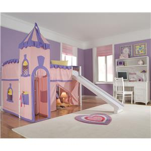 NE Kids School House Full Taylor Kids Bed with Trundle