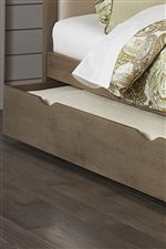 Underbed Trundle for Additional Sleeping Space