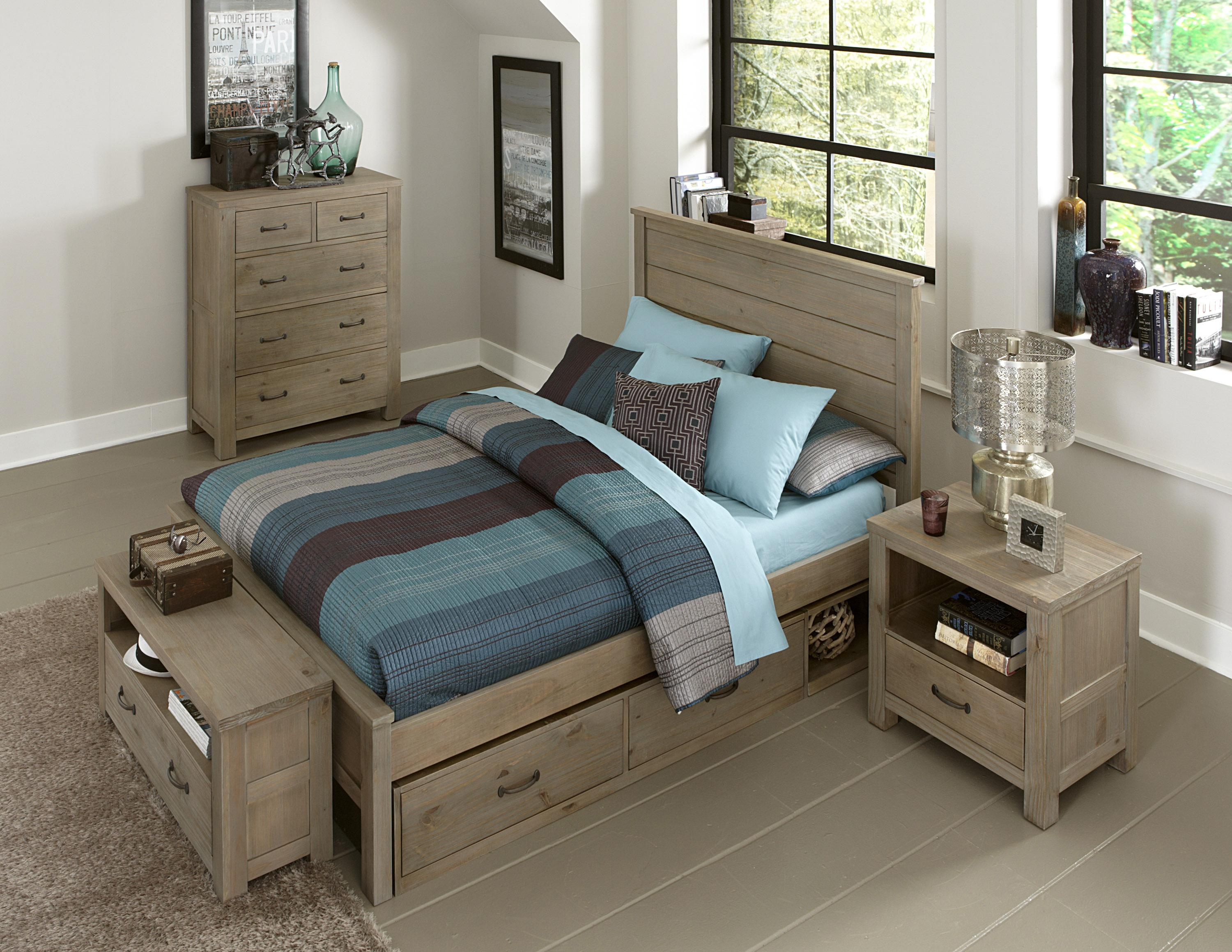 screen bedroom p curved king wood driftwood solid furniture bed