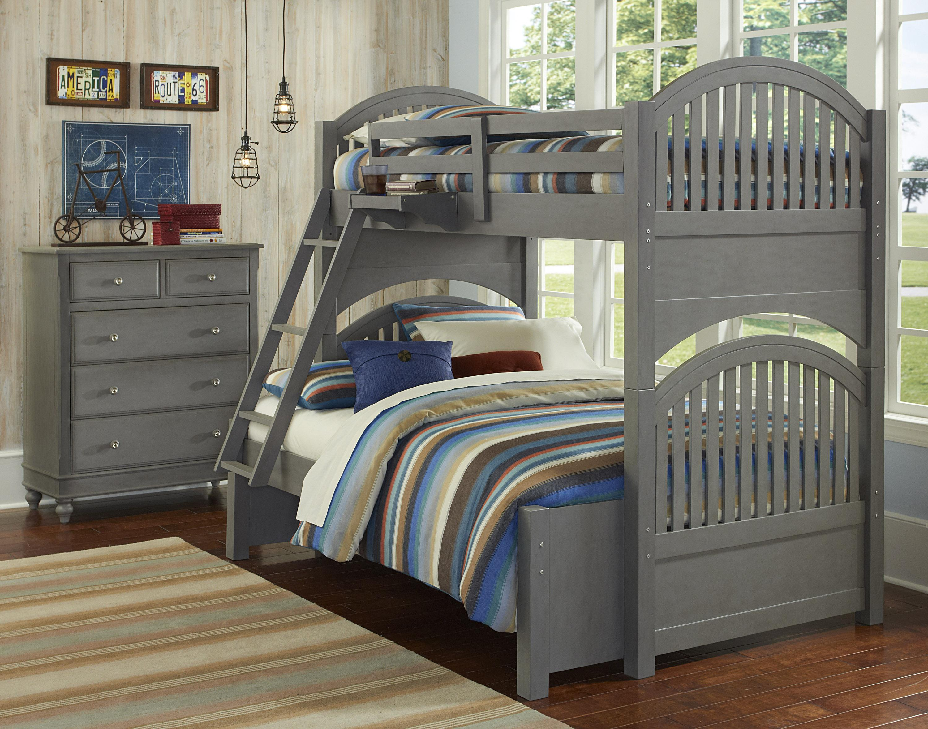 NE Kids Lake House Twin Over Full Standard Bunk Bed  - Item Number: 200 F Bunk Bed Group 1