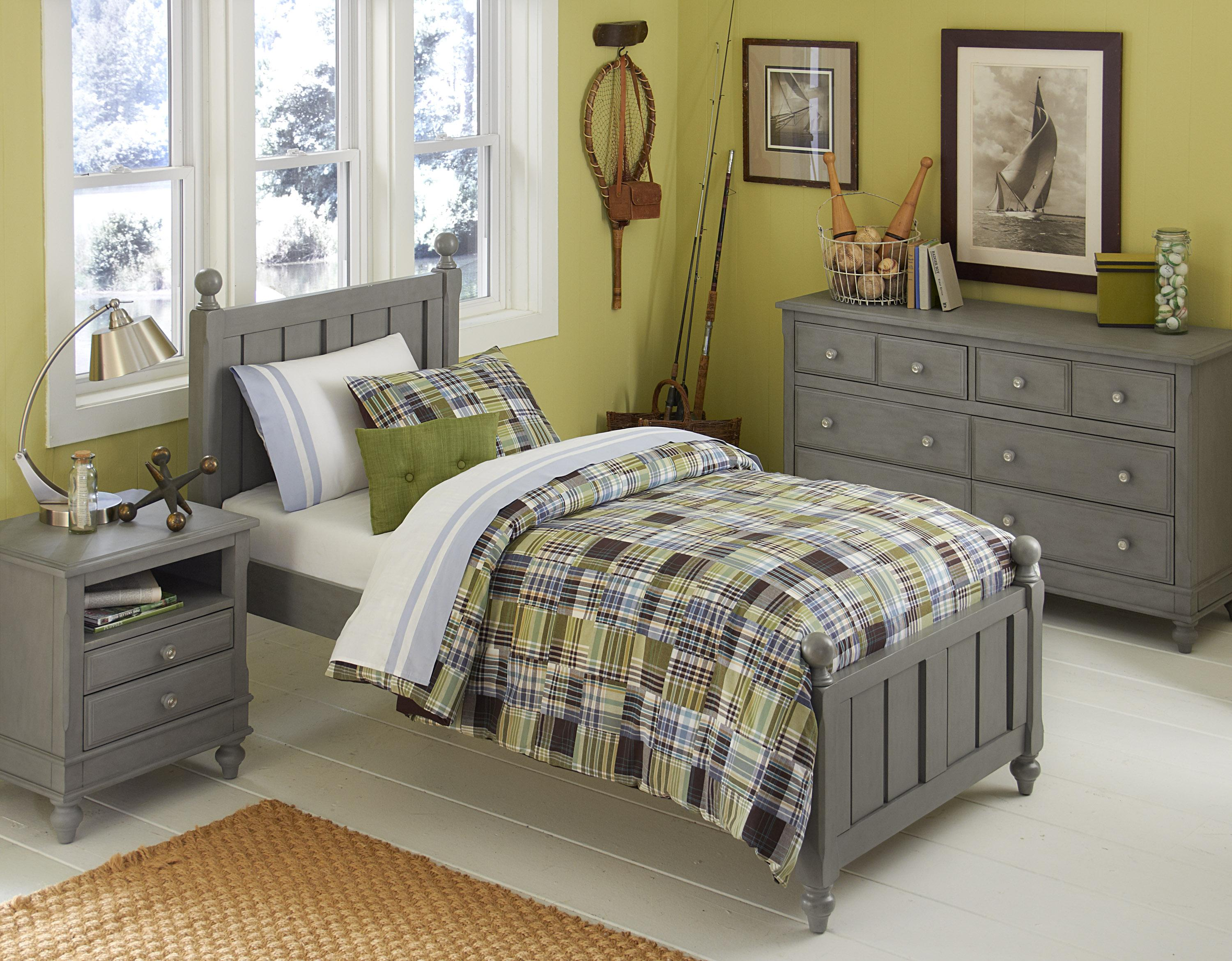 NE Kids Lake House Twin Kennedy Standard Bed - Item Number:  200 T Bed Group 4