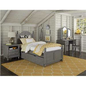 NE Kids Lake House Full Payton Trundle Bed