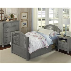 Twin Adrian Storage Bed
