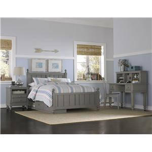 NE Kids Lake House Full Kennedy Storage Bed