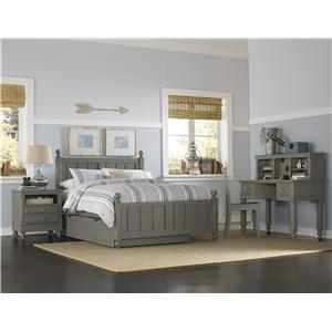 Full Kennedy Trundle Bed