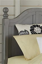 Classic Molding and Smooth Arches are Featured throughout the Collection