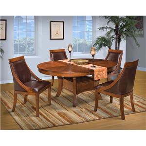 New Classic Aspen Round Table Club Chair