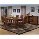 New Classic Aspen Dining Room Group - Item Number: 116 Dining Room Group