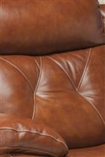 Tufted Detailing in Seat Backs