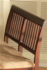 Stylish Slat Backs