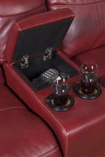 Loveseat Console and Cup Holders