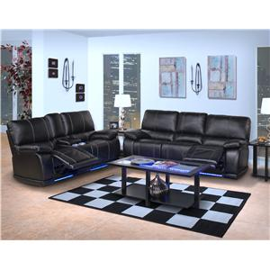 New Classic Electra  Power Reclining Living Room Group