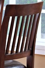 Slat Counter Height Chair Backs