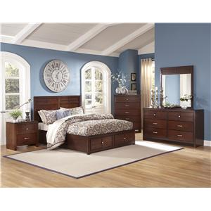 New Classic Kensington Queen Bedroom Group