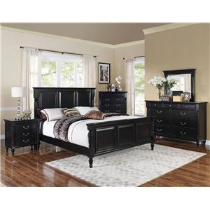 New Classic Martinique Bedroom King Bedroom Group