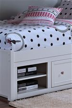 Storage in Bunk Bed Base