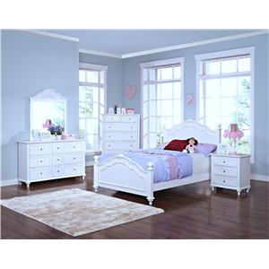 New Classic Megan Casual Twin/Twin Bunk Bed with Storage