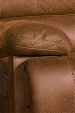 Plush Pillow Top Arms