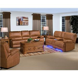 New Classic Montana Reclining Living Room Group