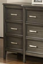 New Classic Richfield Smoke 3 Drawer Nightstand