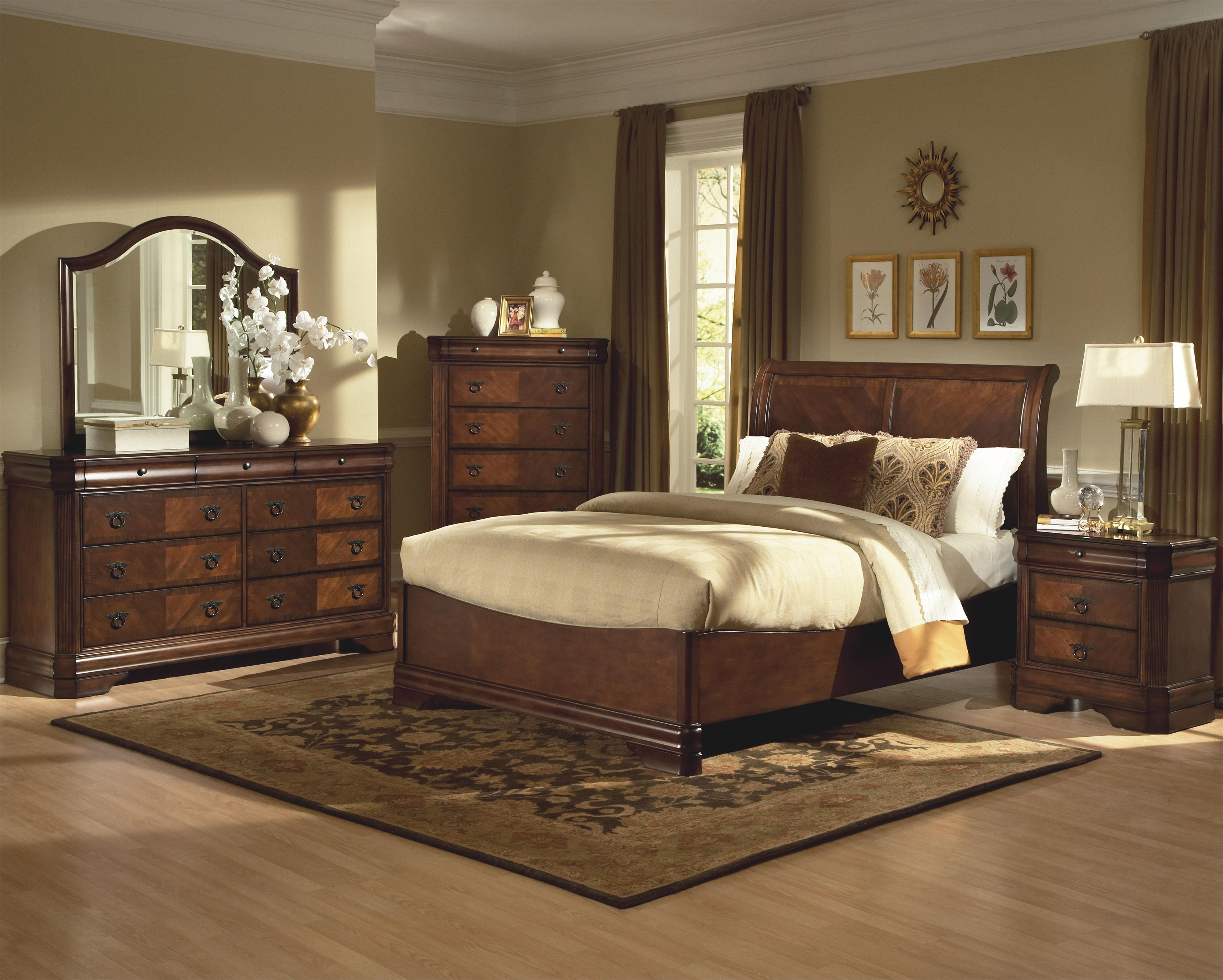 New Classic Sheridan King Bedroom Group - Item Number: 005 K Bedroom Group 1