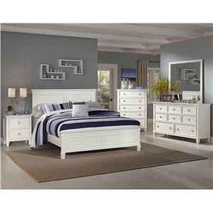New Classic Tamarack 4 Piece Queen Bedroom