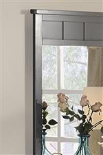 Mirror frame detailing