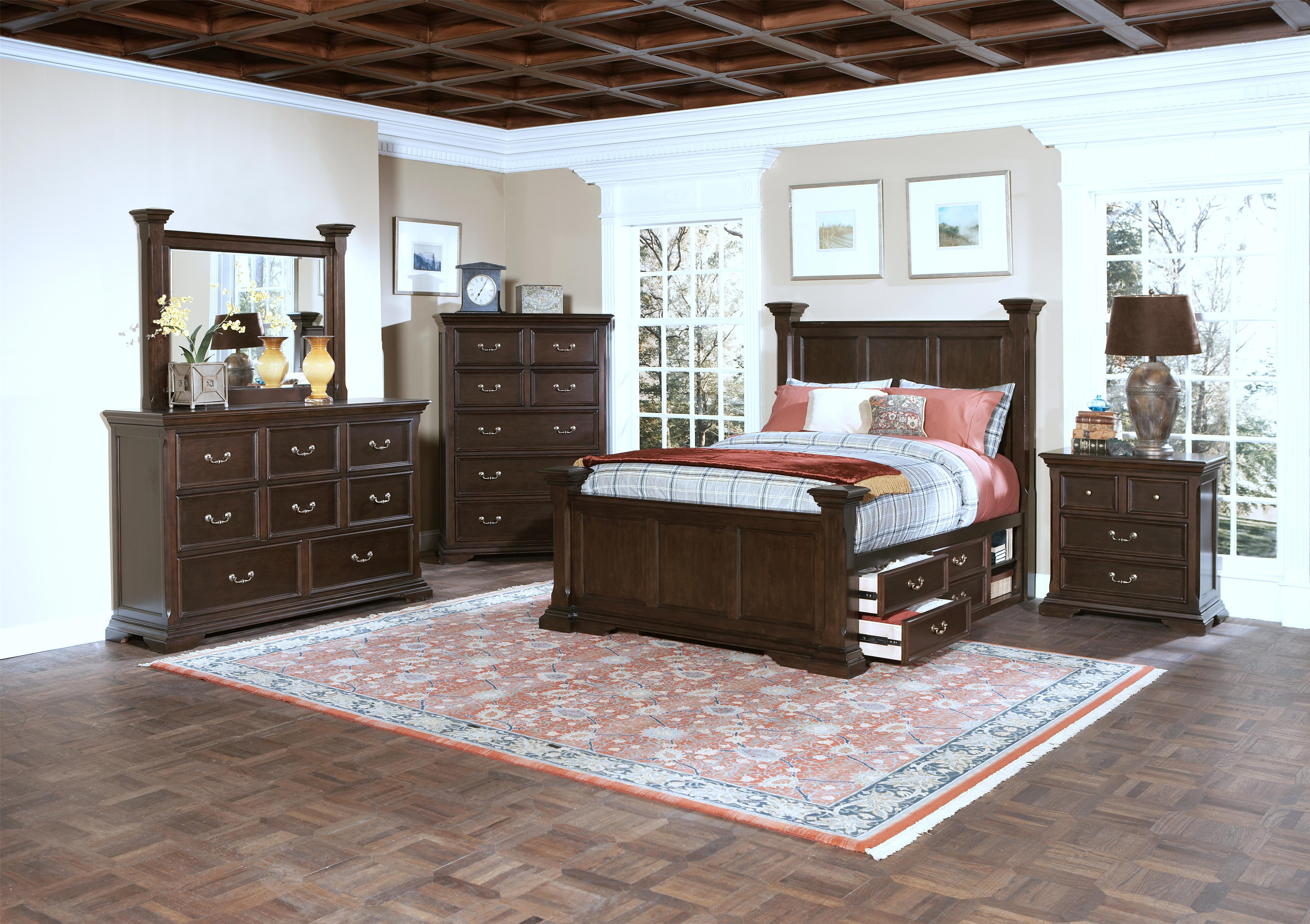 New Classic Bedroom Furniture New Classic Timber City California King Captains Bed With