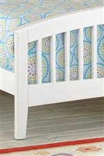 Your Child Will Enjoy the Sophisticated Look of this Slat Bed.