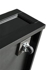 Optional Trundle Unit is Mounted on Casters for Easy Pull-out Use
