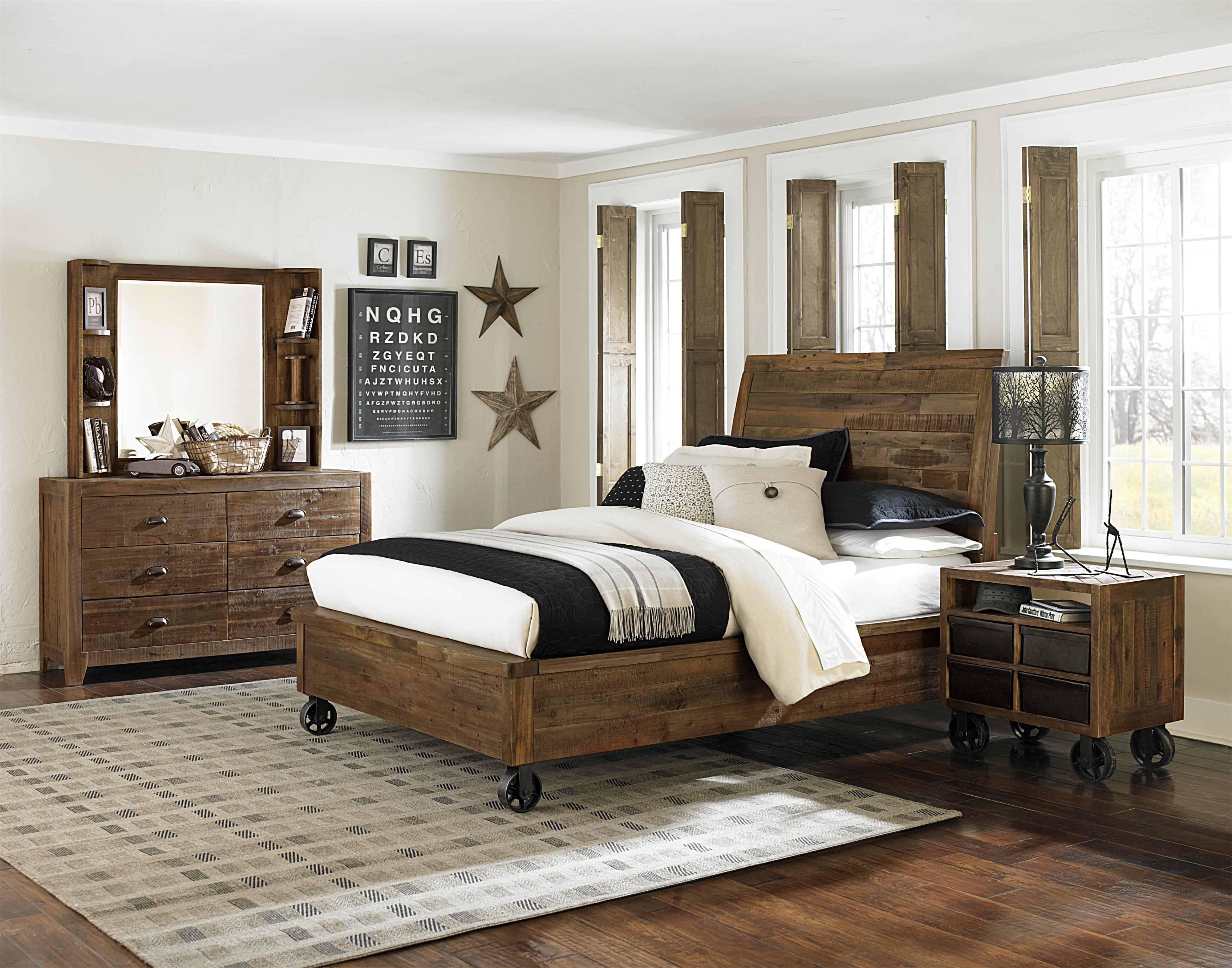 Next Generation by Magnussen Braxton Twin Bedroom Group - Item Number: Y2377 T Bedroom Group 1
