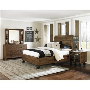 Next Generation by Magnussen Braxton Full Bedroom Group