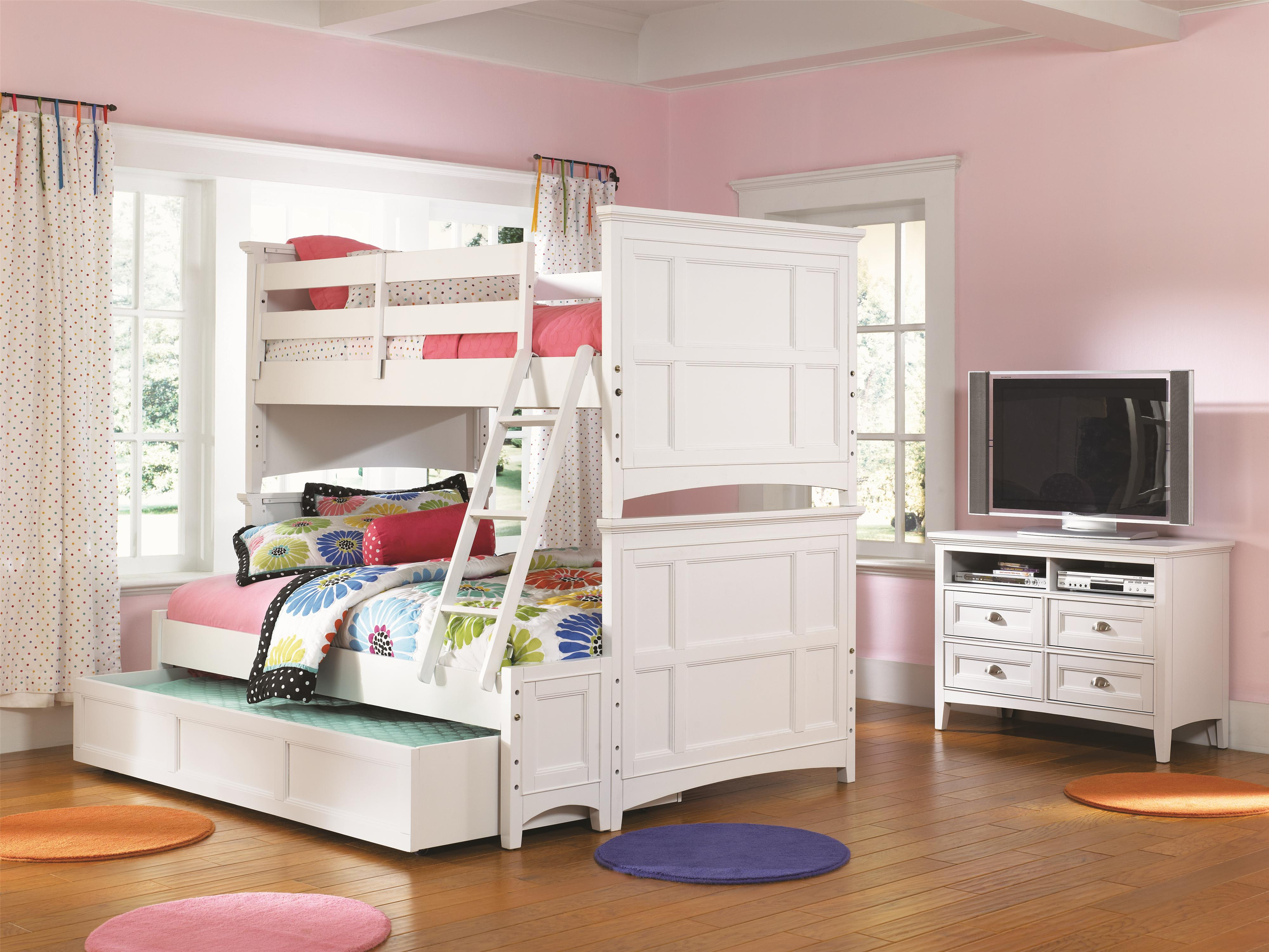 Next Bedroom Wallpaper Piper Twin Lounge Bed With Bookcase And Underbed Storage Drawers