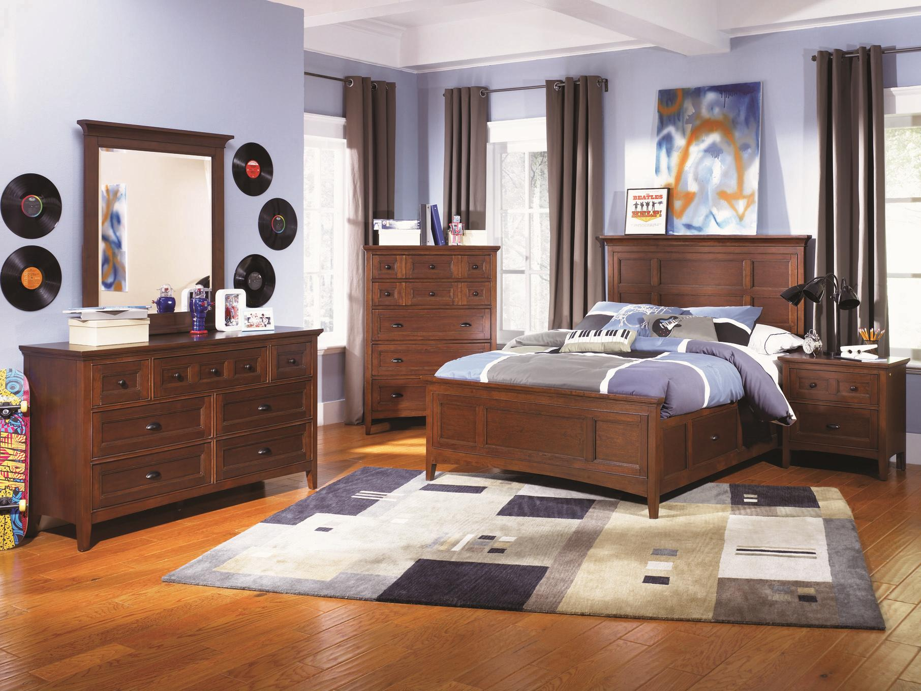 magnussen bedroom furniture. Next Generation by Magnussen Riley Twin Panel Bed with Two Storage Rails  Wayside Furniture Beds