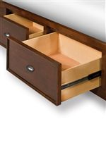 Storage Bed Side Rail Option