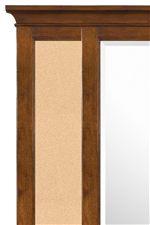 Corkboard Mirror