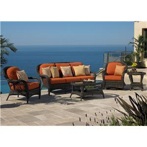 NorthCape International Berkshire 5 Pc. Outdoor Deep Seating Set