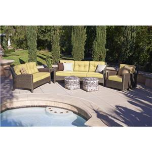 NorthCape International Elegance Outdoor Conversation - Chat Set