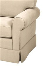 Rolled Arms and Seat Cushions Are Encased in Stylish Welt Cord Trim
