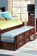 Trundles and Bunks are Perfect for Smaller Spaces