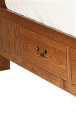 Sideboard Drawer Option Creates Unique Storage Space