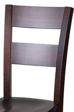 Comfortable Ladder Back Dining Chair