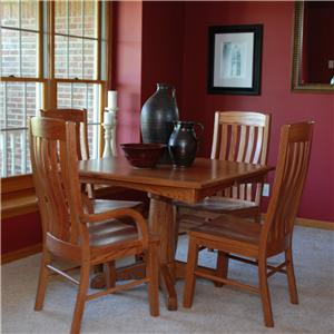 Oakwood Industries Casual Dining Contour Dining Side Chairs