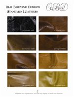 Leathers Offered in Authentic, Faux, Embossed and Ultra Fabric Varieties