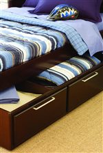 Underbed Storage Options Allow for Organization Aid and Convenience