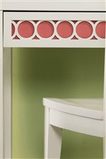 Choose From 8 Colors for Accent Panels