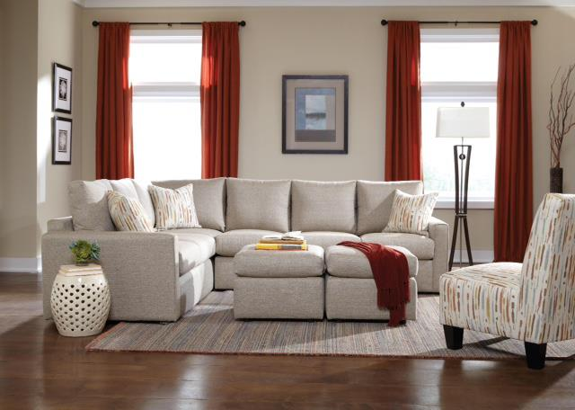 26 Frame Stationary Living Room Group by Overnight Sofa at Dream Home Interiors