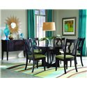 Palettes by Winesburg Single Metro Casual Dining Room Group - Item Number: Dining Room Group