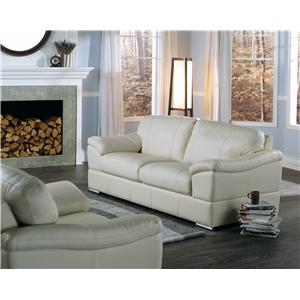Palliser Acapulco Casual Loveseat with Pillow Arms