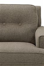Button-Tufted Seat Back